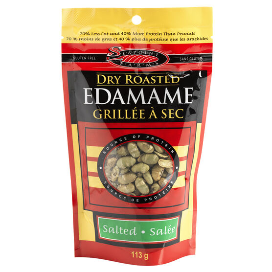 Seapoint Farms Dry Roasted Edamame - Salted - 113g