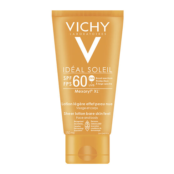 Vichy Ideal Soleil XL Sunscreen Cream - SPF 60 - 150ml