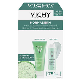 Vichy Normaderm AntiAcne Treatment Kit - 3 piece