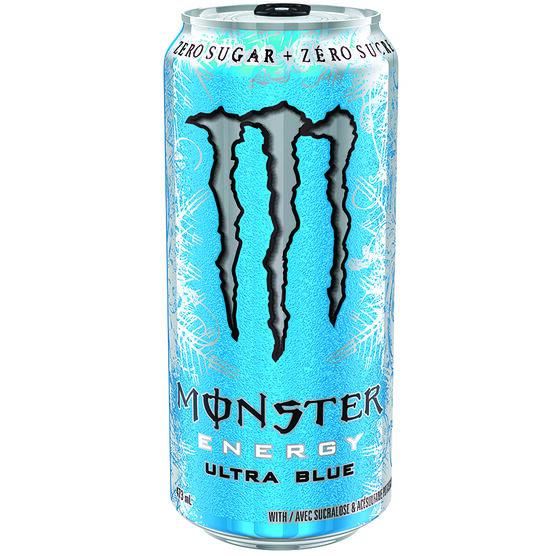 Monster Energy Drink - Ultra Blue - 473ml