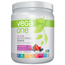 Vega One All-In-One Nutritional Shake - Mixed Berry - 425g