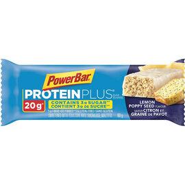 PowerBar Protein Plus Bar - Lemon Poppy Seed - 60g