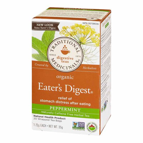 Traditional Medicinals Herbal Tea - Organic Eater's Digest - 20's