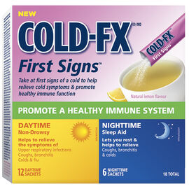 Cold-FX First Signs Day and Night - 12's+ 6's