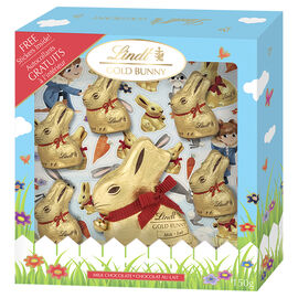 Lindt Gold Bunny Sticker Set - 150g
