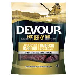 Devour Pork Jerky - Sweet & Pepper Barbeque - 70g