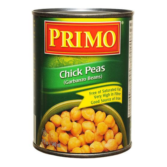 Primo Chick Peas - 540ml