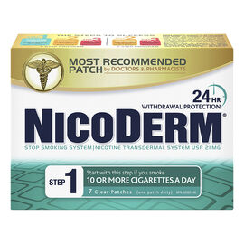 Nicoderm Clear Step 1 - 21mg - 7's