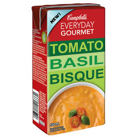Campbell's Everyday Gourmet Soup - Tomato Basil Soup - 500ml