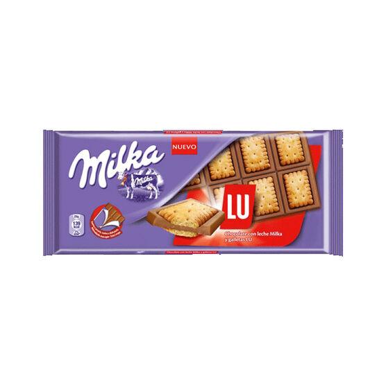 Milka Milk & LU Chocolate - 87g
