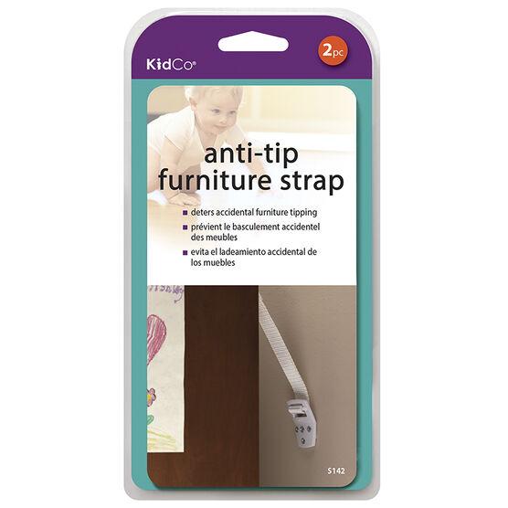 KidCo Anti-Tip Furniture Straps - 2 pack - S142
