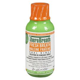 TheraBreath Fresh Breath Oral Rinse - Mild Mint - 88.7ml