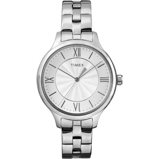 Timex Main St. Collection Watch - Silver - TW2R28200ZA