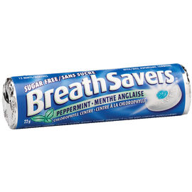 BreathSavers - Peppermint - Sugar Free - 22g