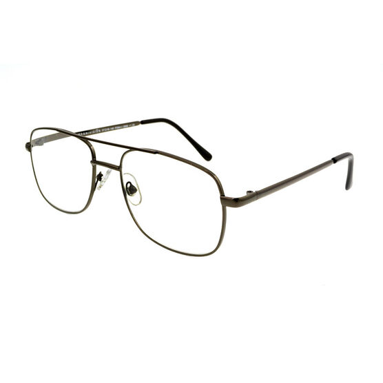Foster Grant RR 51 Reading Glasses - Gunmetal - 1.75