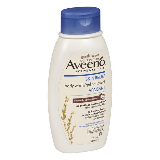 Aveeno Active Naturals Skin Relief Body Wash - Coconut - 354ml