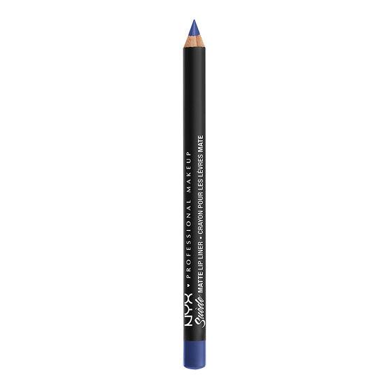 NYX Professional Makeup Suede Matte Lip Liner - Jet Set