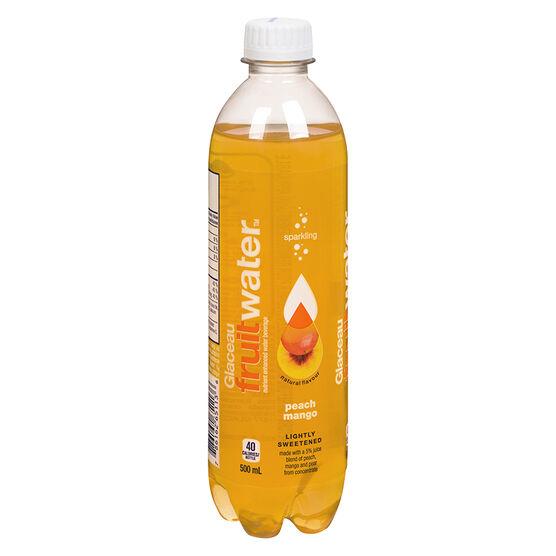 Glaceau FruitWater - Peach Mango - 500ml