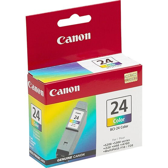 Canon BCI-24 Ink Cartridge - 1 Tank - Colour - 6882A003