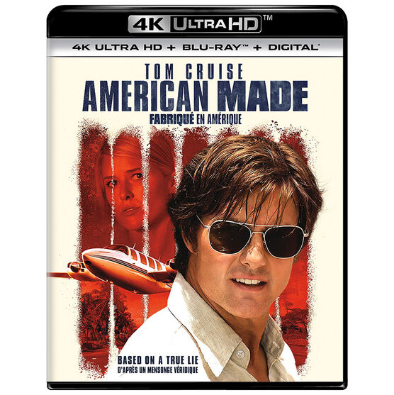 American Made - 4K UHD Blu-ray