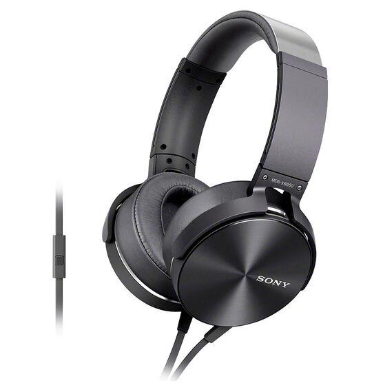 Sony Extra Bass Smartphone-capable Premium Headphones - Grey - MDRXB950AP/H