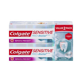 Colgate Sensitive PRO-Relief Toothpaste - Repair & Prevent - 2 x 75ml