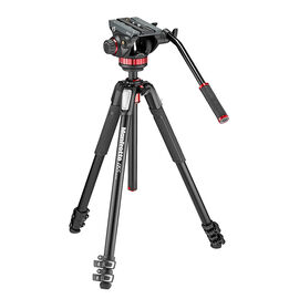 Manfrotto MT055XPRO3 Tripod with MVH502AH Head - MVK502055X