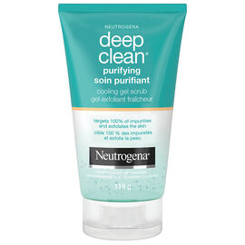 Neutrogena Deep Clean Purifying Cool Gel Scrub - 119g