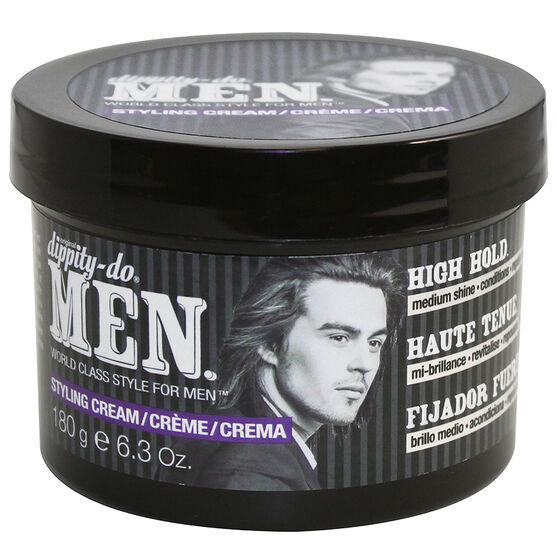Dippity-Do Men Styling Cream - High Hold - 180g