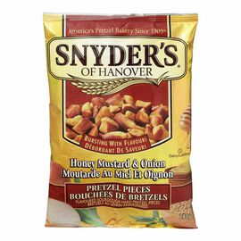Snyder's of Hanover Pretzel Pieces - Honey Mustard & Onion - 240g