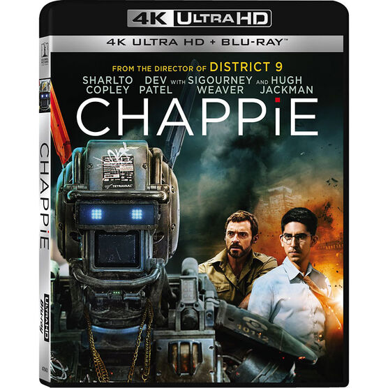 Chappie - 4K UHD Blu-ray