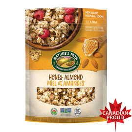 Nature's Path Organic Pure Oats Granola Cereal - Honey Almond - 312g