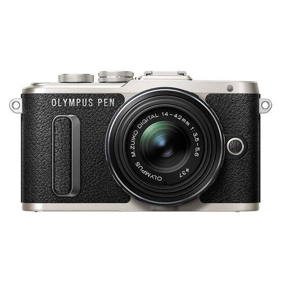 Olympus PEN E-PL8 with 14-42mm IIR Black Lens - Black - V205081BU000