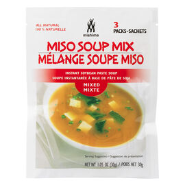 Mishima Instant Miso Soup - Mixed - 3 Pack