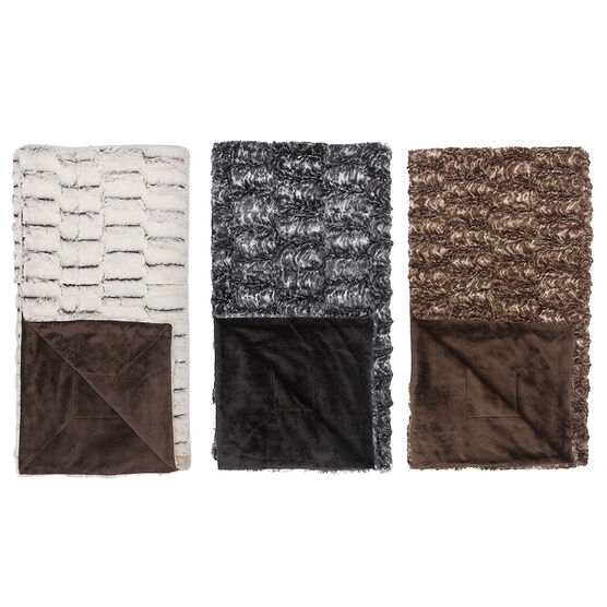 Sutton Place Nevada Throw - Assorted