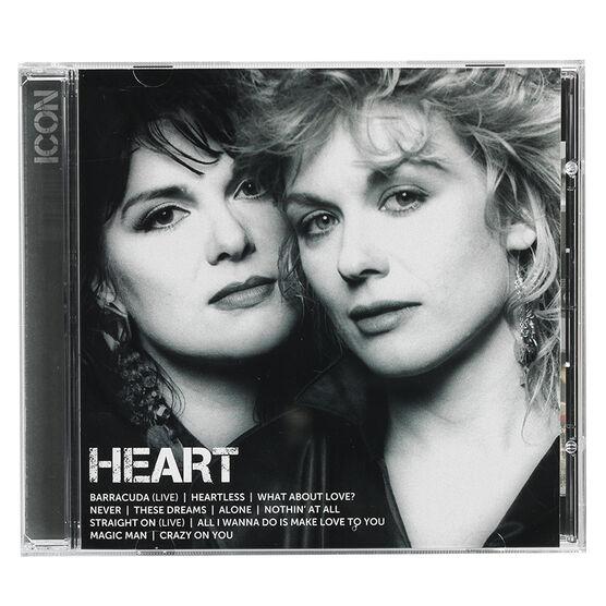 Heart - Icon - CD