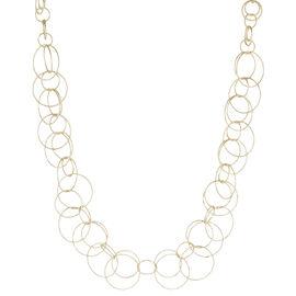 """Anne Klein Open Link Necklace - Gold - 16"""""""