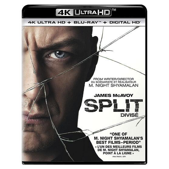 Split - 4K UHD Blu-ray