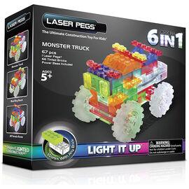 Laser Pegs Zippy Do Truck Monster Truck Kit