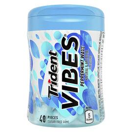 Trident Vibes Gum - Peppermint Wave - 40 Pieces