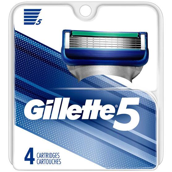 Gillette5 Razor Blade Refills - 4's