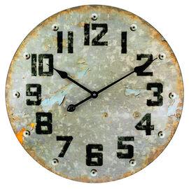 London Drugs Wall Clock - Metal Look - 57cm
