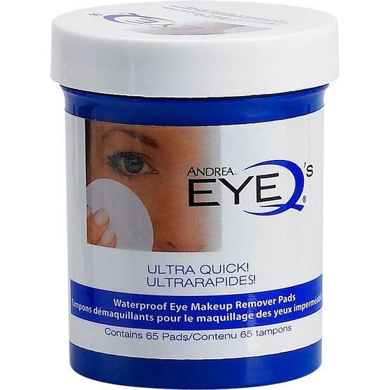 Andrea EyeQ's Ultra Quick Eye Makeup Remover Pads - 65's