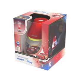 Disney Cars 2-in-1 Nightlight - Red