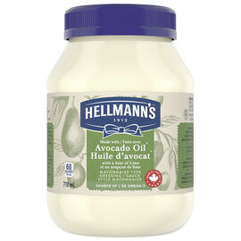 Hellmann's Mayonnaise Type Dressing - Avocado Lime - 710ml