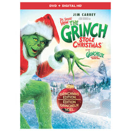 Dr. Seuss' How The Grinch Stole Christmas (2000) - DVD