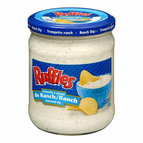 Ruffles Creamy Ranch Dip - 425g