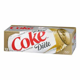 Coke - Diet - Caffeine Free - Fridge Mate - 12 pack