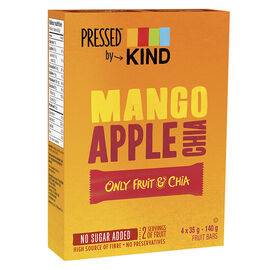 Kind Only Fruit & Chia - Mango & Apple - 4 Pack