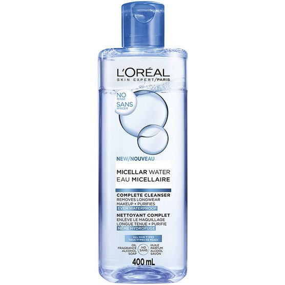 L'Oreal Micellar Water Complete Cleanser - All Skin Types - 400ml